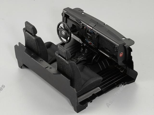 Killerbody Cockpit Interior Set for Toyota Land Cruiser LC70 Hard Body