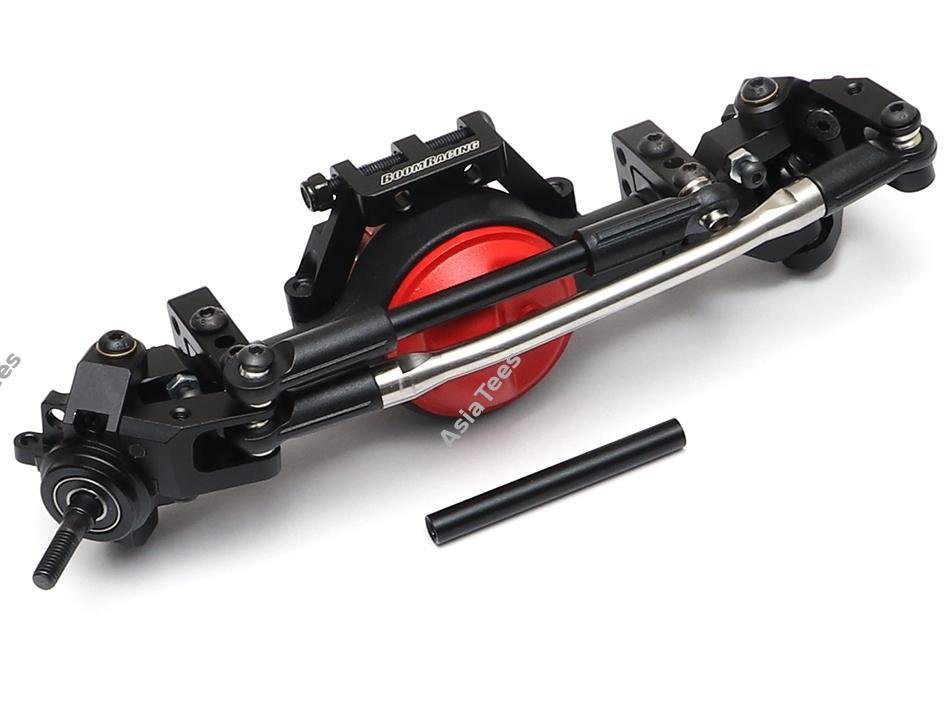 Boom Racing Complete Front Assembled BRX70 PHAT Axle Set w/ AR44 HD Gears (Prepay/Preorder))