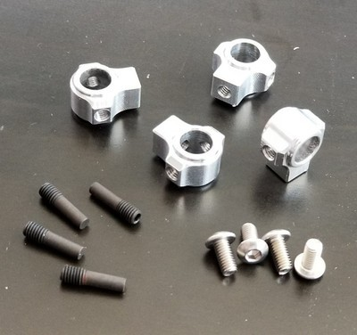 Team KNK Aluminum Body Mounts Natural Version 2