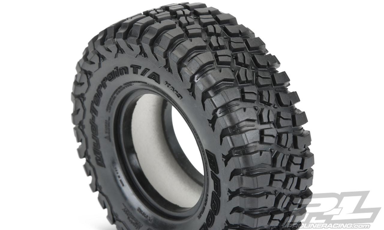 "Proline Class 1 BFGoodrich Mud-Terrain T/A KM3 1.9"" (4.19"" OD) Rock Terrain Truck Tires G8 Compound"