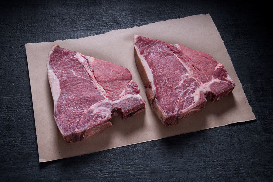 Grainfed T-Bone 4 x 500g