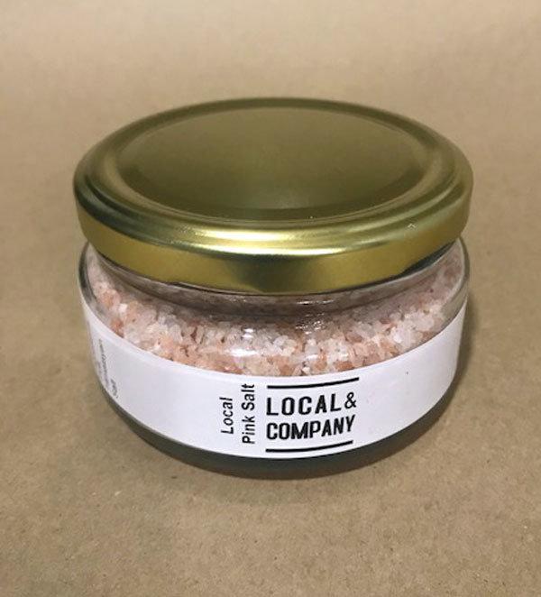 Local Pink Salt (Coarse) - 140g
