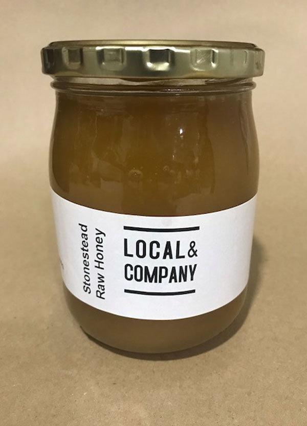 Stonestead Raw Honey - 380ml