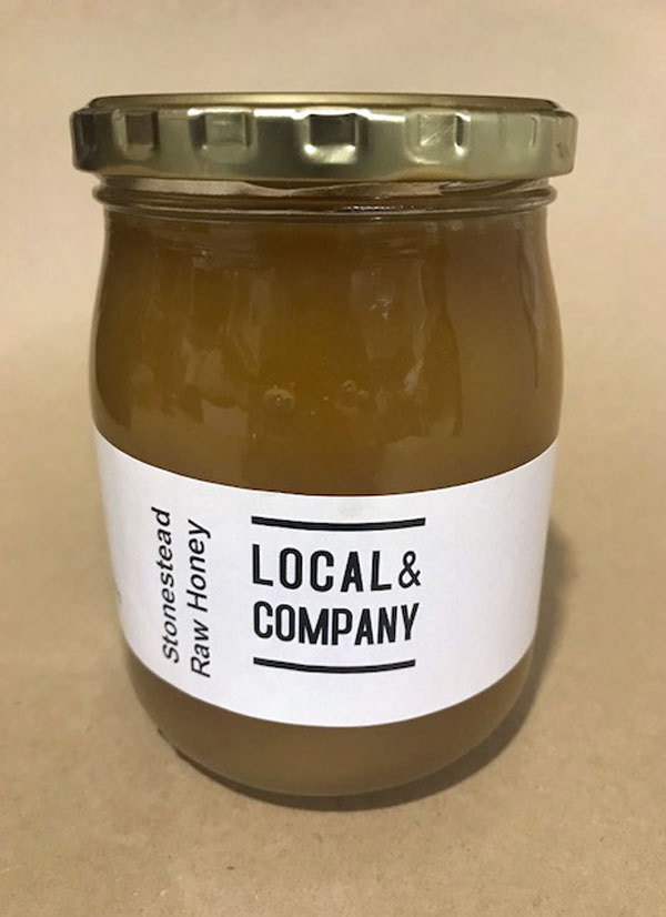 Stonestead Raw Honey - 580ml