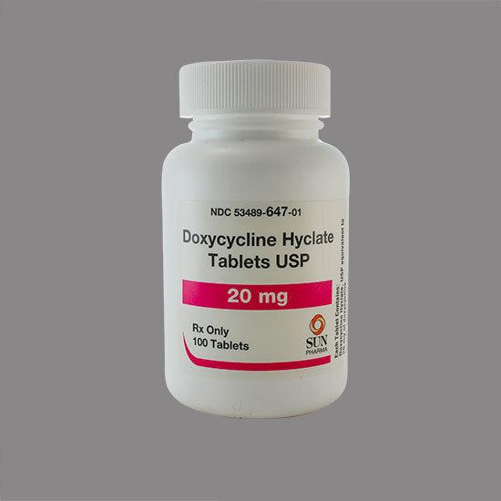 Doxycyline Hyclate Tablets 20mg