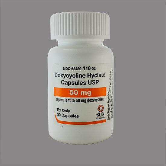 Doxycycline Hyclate 50mg