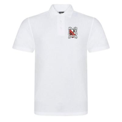 Polo Shirt White (Ordered On Request)