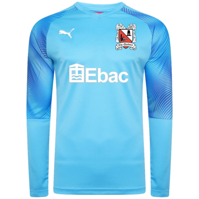 Puma Goalkeeper Shirt Blue Adult 19/20 (Ordered on Request)