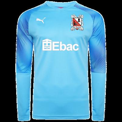 Puma Goalkeeper Shirt Blue Junior 19/20 (Ordered on Request)