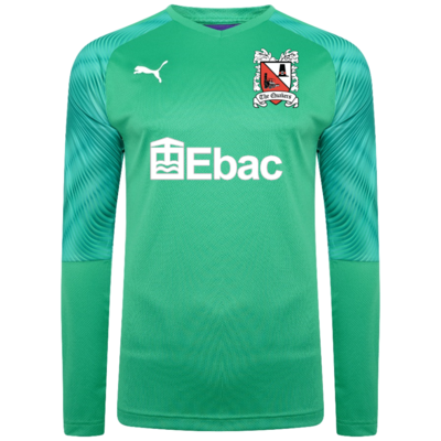 Puma Goalkeeper Shirt Green Junior 19/20 (Ordered on Request)