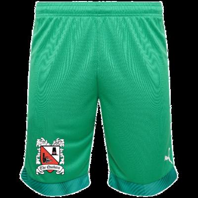 Puma Goalkeeper Shorts Green Junior 19/20 (Ordered on Request)