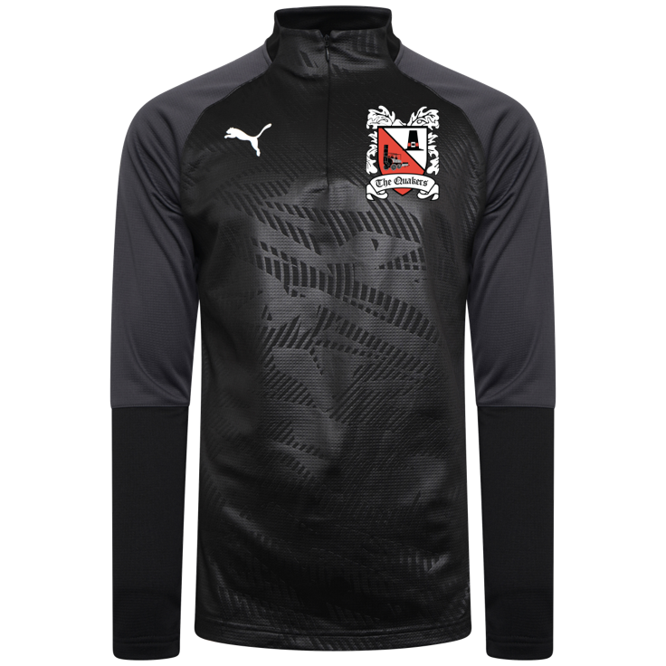 Puma Cup Core Black Quarter Zip Top 19/20 (Ordered on Request)