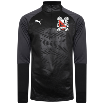 Puma Cup Core Black Quarter Zip Top (Ordered on Request) 19/20
