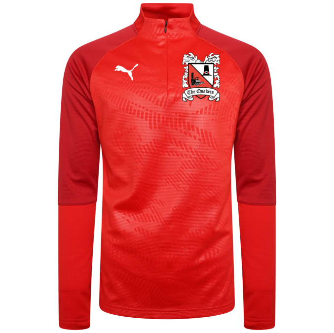 Puma Cup Core Red Quarter Zip Top 19/20