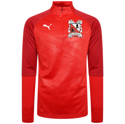 Puma Cup Core Red Quarter Zip Top (Ordered on Request) 19/20
