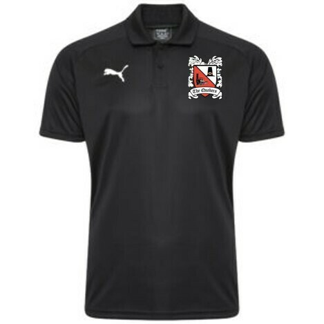 Puma Liga Sideline Black Polo Shirt 19/20 (Ordered on Request)