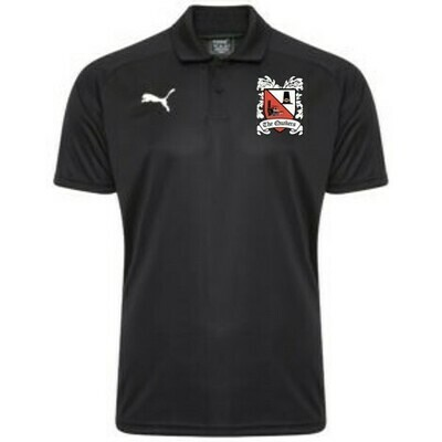 Puma Liga Sideline Black Polo Shirt  (Ordered on Request) 19/20