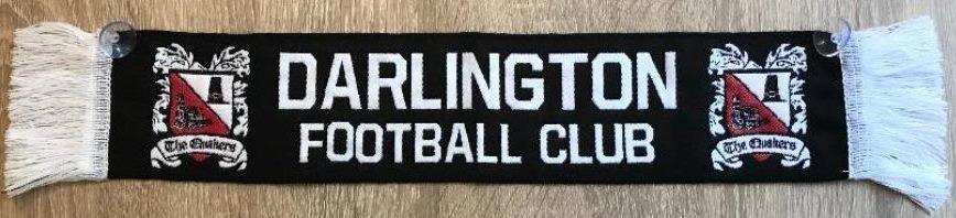 Darlington FC Mini Car Scarf
