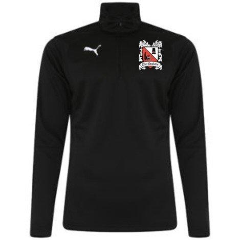 Puma Liga Black Quarter Zip Top (Ordered on Request) 18/19