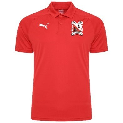 Puma Liga Sideline Red Polo Shirt  (Ordered on Request) 18/19