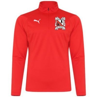 Puma Liga Red Quarter Zip Top (Ordered on Request) 18/19