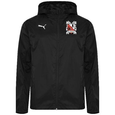 Puma Liga Black Rain Jacket (Ordered on Request) 18/19