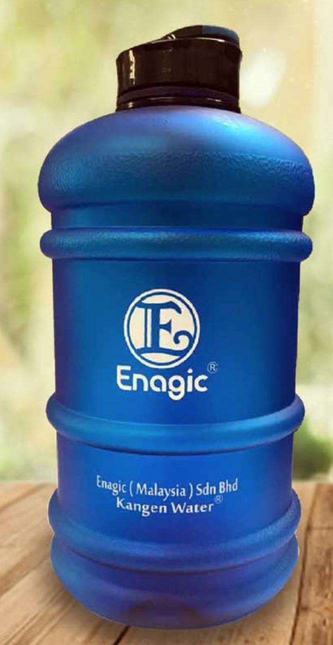Enagic Official 2 Litre Kangen Bottle 00003