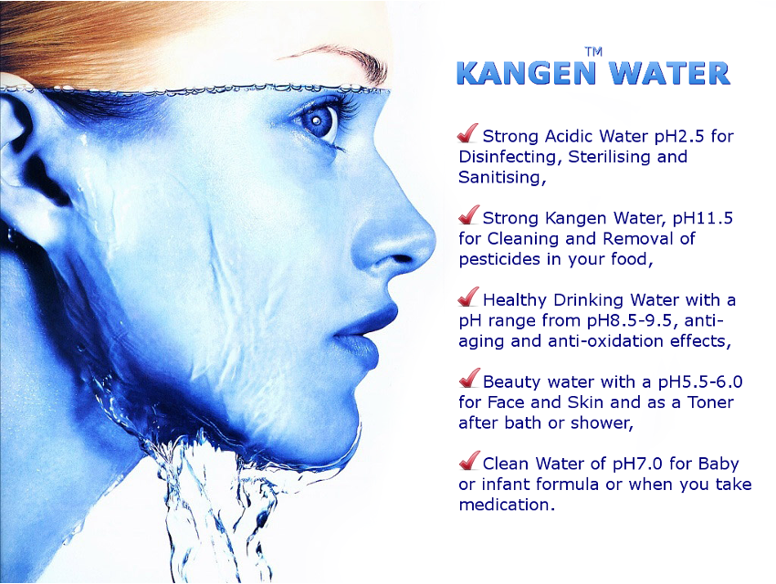 Alkaline Kangen Water London UK