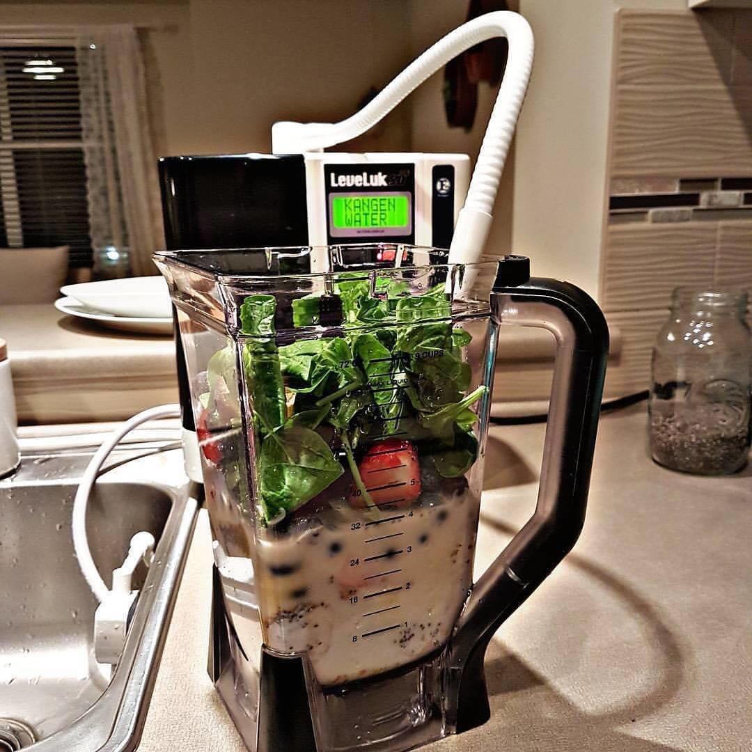 kangen alkaline water filter machine cancer