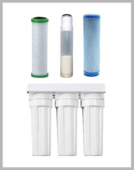 Pre-Filtration Combo 2: Sediment/Chlorine, Limescale, and Heavy Metal Guzzler IWSPFC2