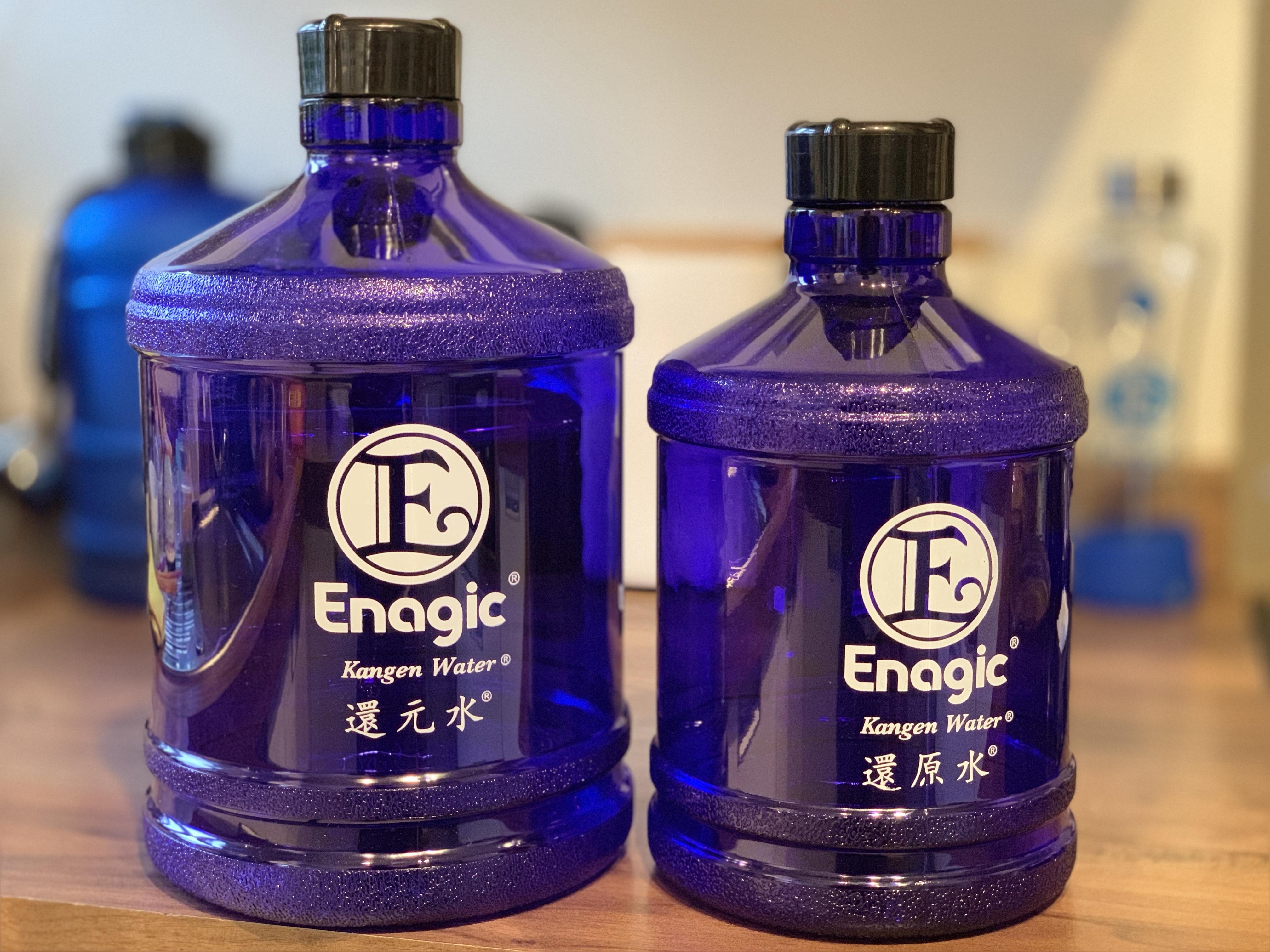 NEW 2 & 5 Litre Kangen Bottles