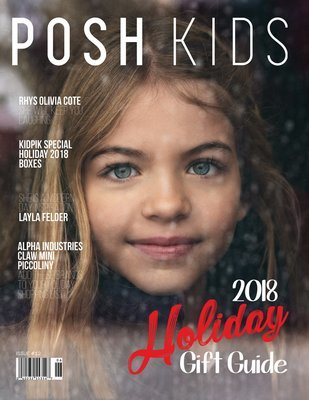 Posh Kids Magazine #12 - RHYS OLIVIA COTE Issue #12 PKMAG12