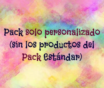 Pack Solo Personalizado