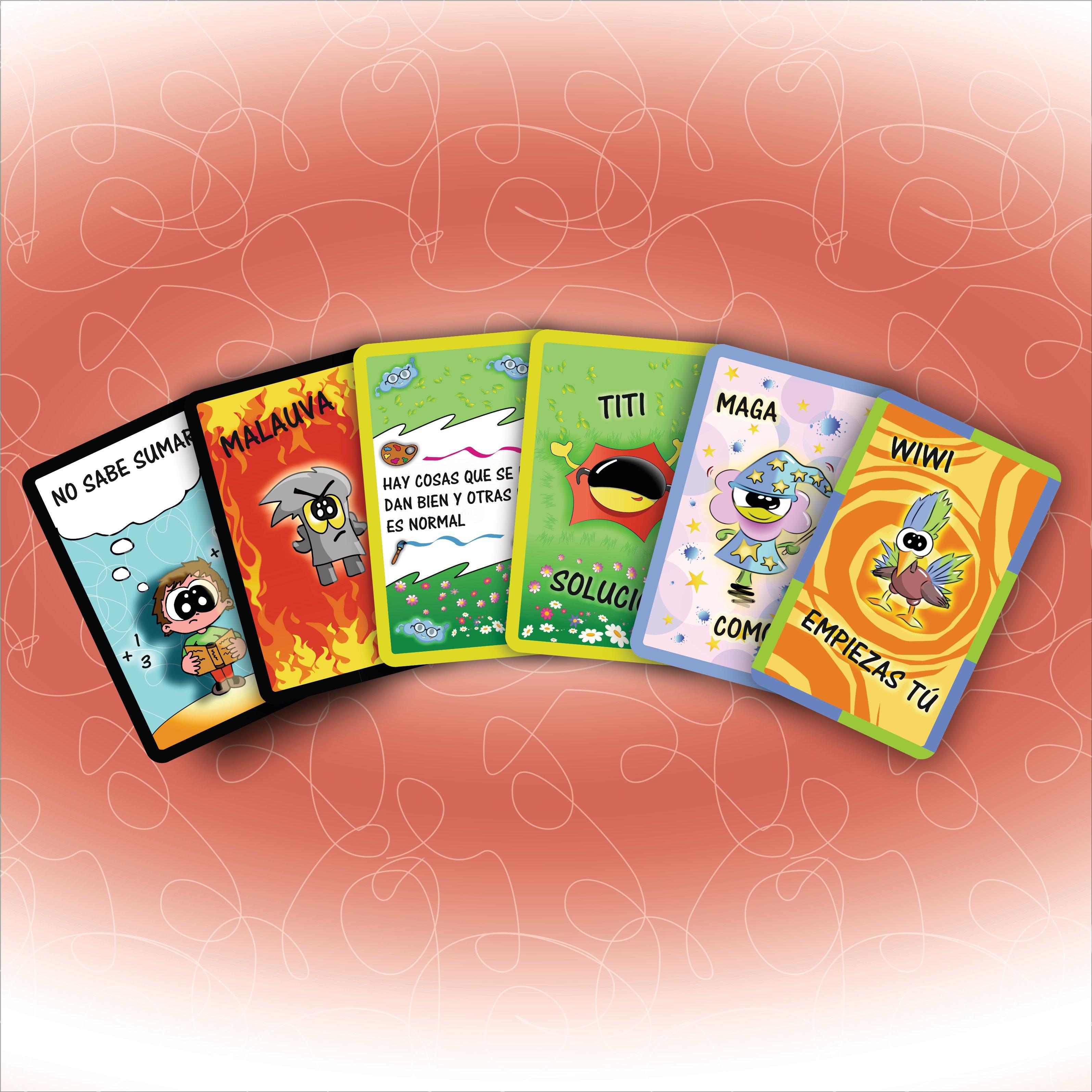 Juego de cartas descargable- Motivacion infantil - Inteligencia emocional 00002O