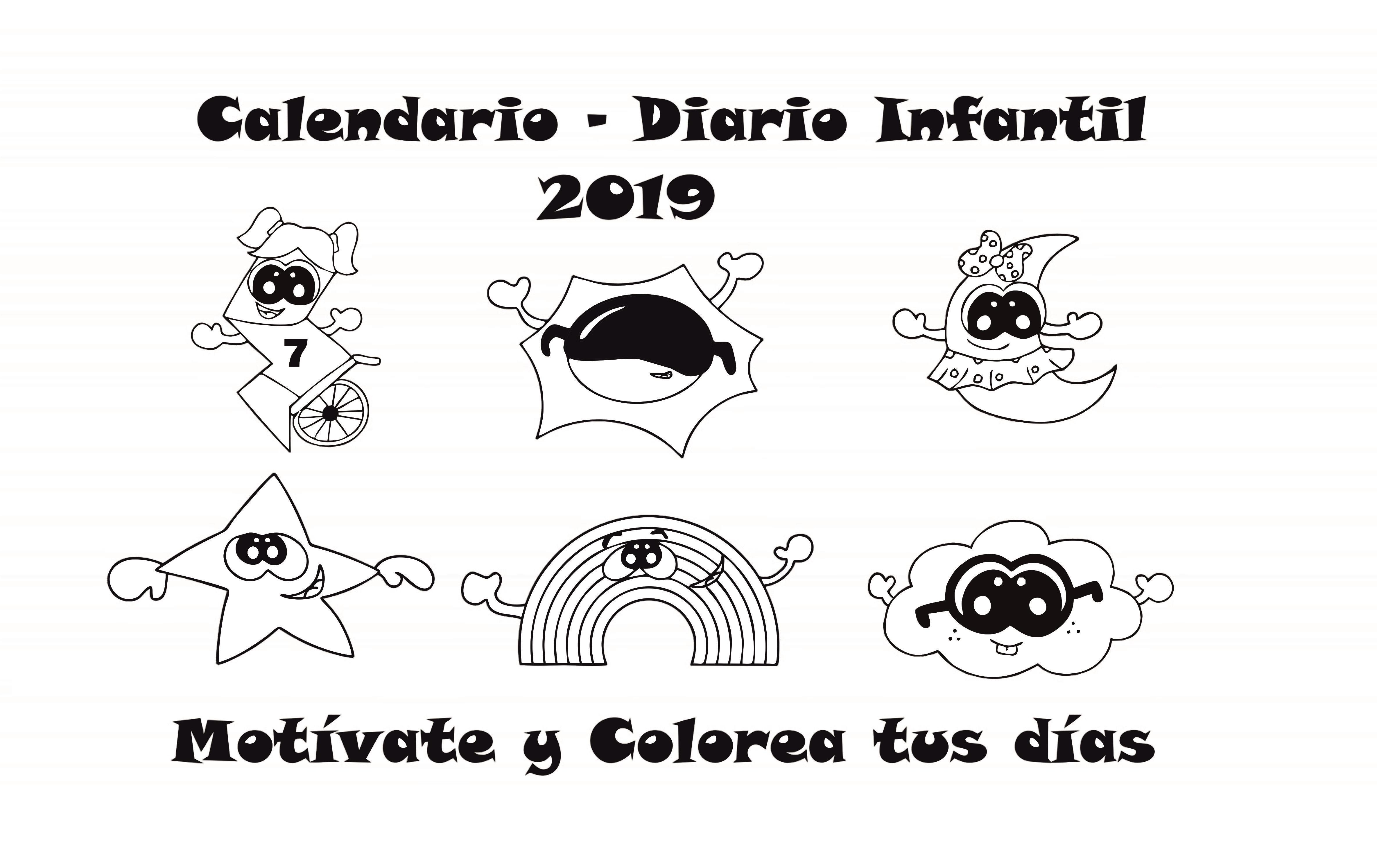 Calendario infantil diario 2019 00003O