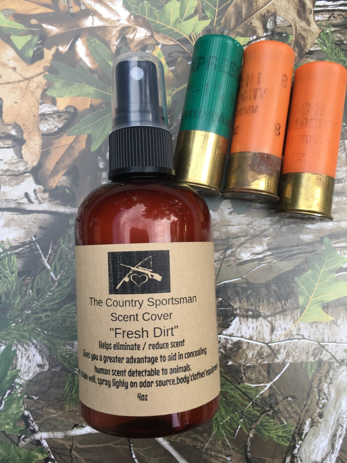 The Country Sportsman Scent Cover