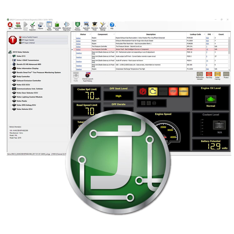 JPRO® Professional Diagnostic Software*