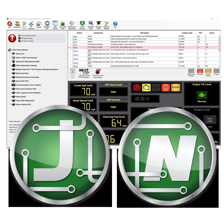 JPRO® Professional Diagnostic Software w/Next Step™