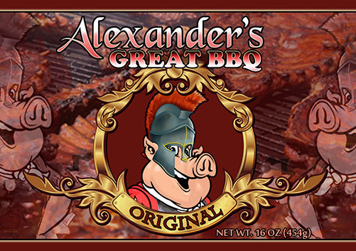 Alexander's Great Original BBQ Sauce agbo