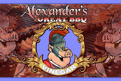 Alexander's Great Vinegar BBQ Sauce agbv