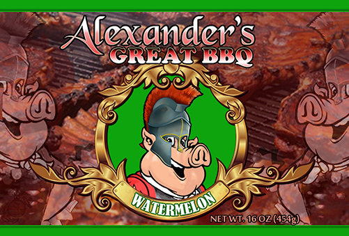 Alexander's Great Watermelon BBQ Sauce agbw