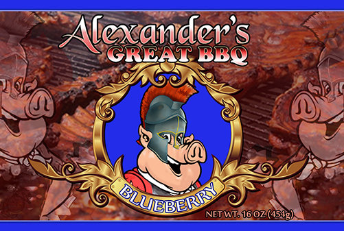 Alexander's Great Blueberry BBQ Sauce agbb