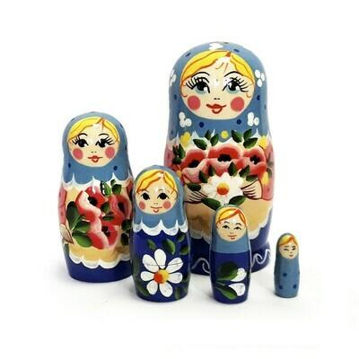Матрёшка Семеновская «Маришка» (5 кукол)