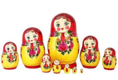 Матрёшка Семеновская «Анюта» 10 кукол