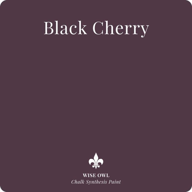 Black Cherry Wise Owl Chalk Synthesis Paint – Pint (16 oz)
