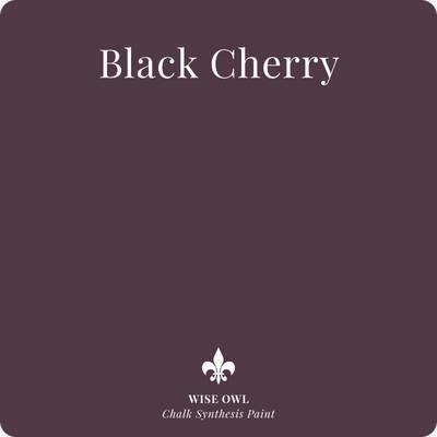 Black Cherry Wise Owl Chalk Synthesis Paint – Pint (16 oz)