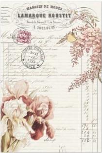 Pink Floral Decoupage Sheet 20