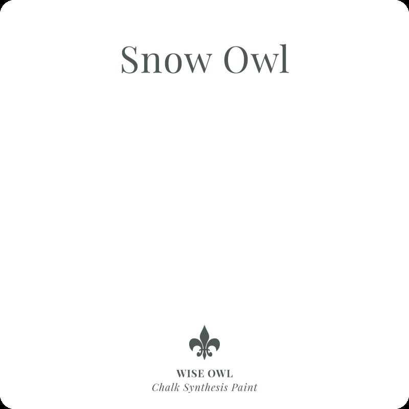 Snow Owl Wise Owl Chalk Synthesis Paint – Pint (16 oz)