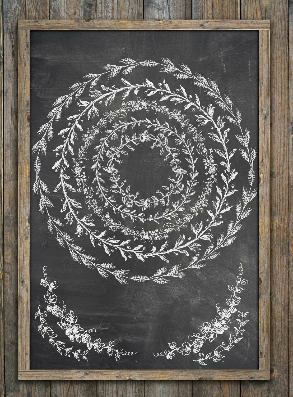 IOD Wreath Builder Classic 12×12 Decor Stamp
