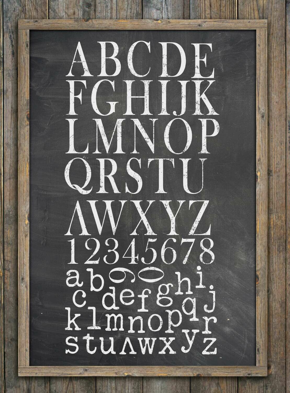 "IOD Typesetting Stamp 12"" x 12"" Décor Stamp"